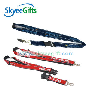 Custom Promotional Heat Transfer Printed Sublimation Polyester Neck Lanyard pictures & photos