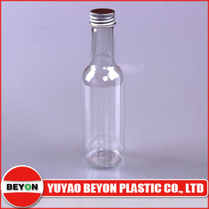 5oz Transparent Plastic Pet Bottle with Aluminium Cap (ZY01-D051)