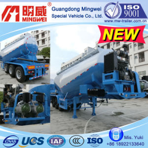 30 Cbm 3 Axles Bulk Cement Tank Semi Trailer (NHG9390GSN, NHG9340GSN)