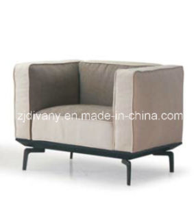 European Modern Home Sofa Leather Single Sofa (D-73-A) pictures & photos