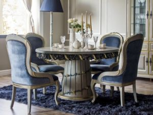Dining Room Furniture Lucxury Classic European Dining Table pictures & photos