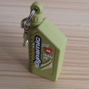 Oil Bottle Deisgn PVC Keychain pictures & photos