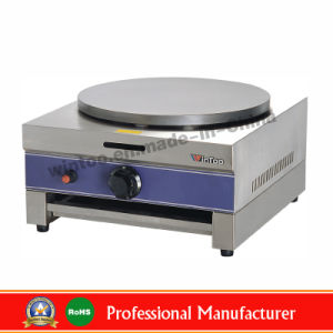 Counter Top Stainless Steel Single Plate Gas Crepe Machine for Top-Rated pictures & photos