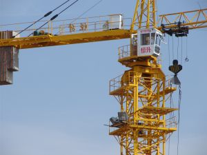 Ce SGS 6t China Hsjj Lifter Crane Qtz5010 pictures & photos