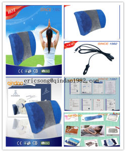 12V-Low Voltage Auto Used Portable Heating Back Cushion pictures & photos