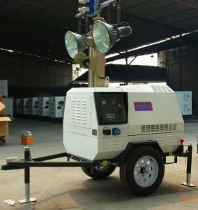 T1000 Series Mobile AC 3 Phase Mobile LED Diesel Generator Tower Light