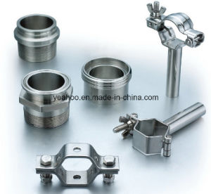 Sanitary Grade Stainless Steel Fittings: Adapter and Nipple