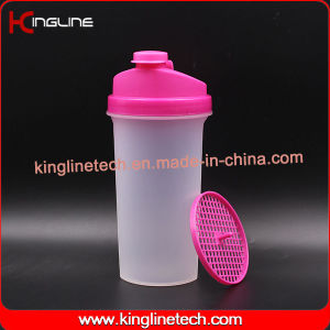700ml Plastic Protein Shaker Bottle with Filter (KL-7013) pictures & photos