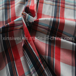 Yarn Dyed Cotton Nylon Spandex Shirts Fabric (SL2060 Strip and Check) pictures & photos