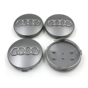 China Grey Black Wheel Center Caps Mm For Audi A A A A Tt - Audi wheel center caps