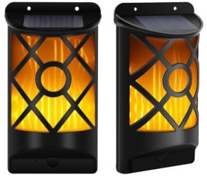 Flame Solar Wall Lamp pictures & photos