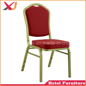 Dining Furniture Stackable Steel Aluminum Hotel Wedding Banquet Chair