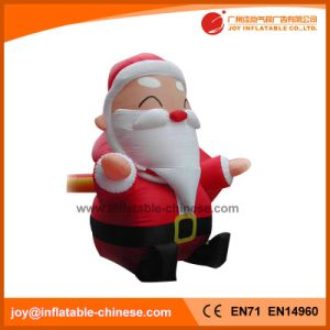 Outdoor Advertising Christmas Inflatable Santa Claus H1 002