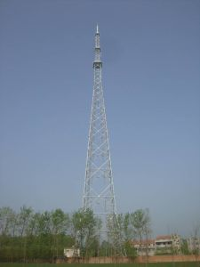 High Quality TV&Broadcast Tower with Pipe Steel (Easy Installation)