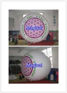 Inflatable Eyeball Printed White Balloon (mic-325) pictures & photos