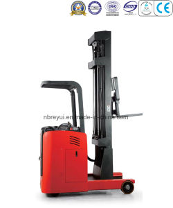 1.5t Stand-on Reach Electric Stacker