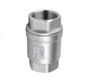 Stainless Steel Vertical Spring Loaded Check Valve, 1000wog pictures & photos