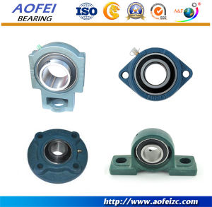 "China UCP204 Pillow Block Mounted Bearing, 2 Bolt, 3/4"" Inside Diameter, Set screw Lock, Cast Iron, Metric - China Pillow block bearing, Spherical bearing"