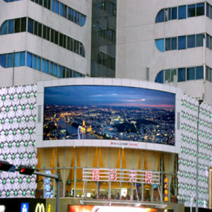 Adjustable Video Program Outdoor LED Display for Advertising