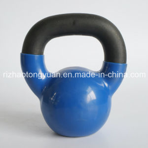 4kg 9lb Vinyl Kettlebell Factory pictures & photos
