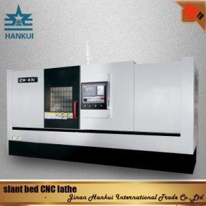 GSK Control System Slant Bed CNC Lathe (CK-80L) pictures & photos