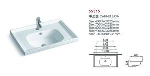 Fancy Table Top Lavatory Kitchen Sink For Vanity S5515