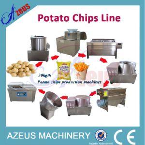 potato chips manufacturing process flow chart pdf