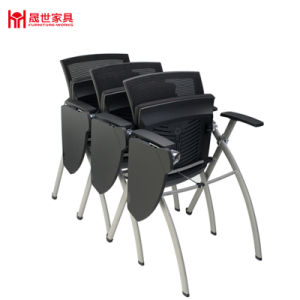 Stackable Foldable Training Room Office Chair with Tablet pictures & photos