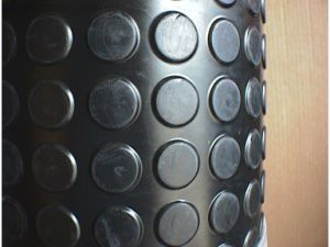 Round Button Rubber Sheet, Stud Rubber Sheet for Flooring Rolls