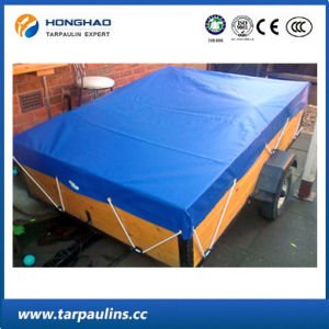 Cover Waterproof PVC Laminated Tarpaulin Crystal Clear Sheet pictures & photos