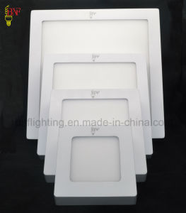 SMD 6W 12W 18W Round and Square LED Ceiling Frame Panel Light with LED Panels Indoor pictures & photos