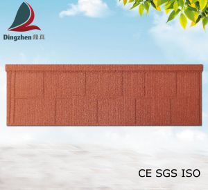 Color Stone Coated Corrugated Roof Panels as Steel Structure Roof