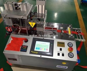 Automatic Angle Cutting Machine with Hole Puncher pictures & photos