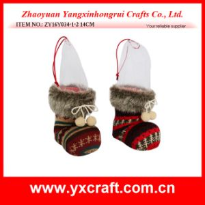 Christmas Decoration (ZY16Y034-1-2 14CM) Christmas Bulk Boot pictures & photos