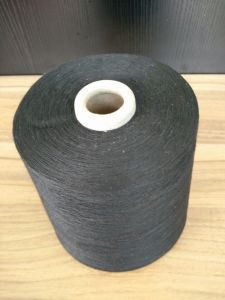 21s Polyester Black Yarn for Making Socks