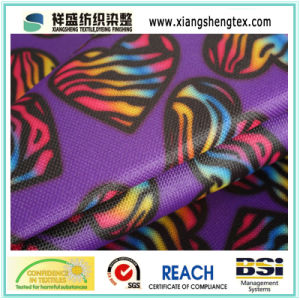PVC Coated Printed Oxford Fabric for Luggage pictures & photos