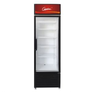 Single Glass Door Display Commercial Refrigerator