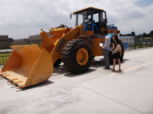 Single Rocker Wheel Loader Cxx959