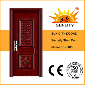 China Classic Armored Swing Iron Door (SC-S173) pictures & photos