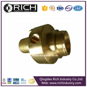Brass Push in Fittings with Knurl/Forged Steel Fitting/Forging/Machinery Part/Metal Forging Parts/Auto Parts/Steel Forging Part/Aluminium Forging pictures & photos