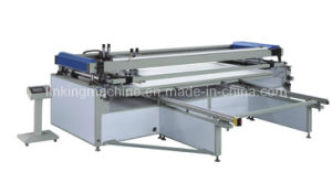 Large Flat Bed Semi-Auto Silk Screen Machine/Machinery pictures & photos
