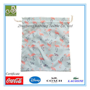Print Oxford Drawstring/Shoe Bag