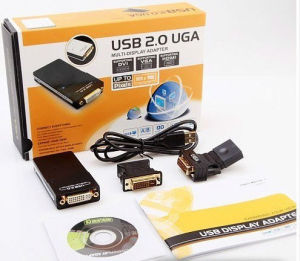 USB 2.0 to VGA/DVI/Hdm Multi-Display Monitor Converter pictures & photos
