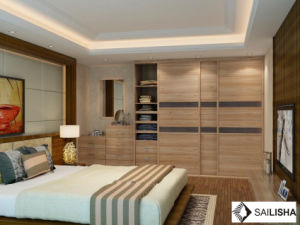 Modern Germany Home Bedroom Hotel Furniture Wood Closets Wardrobe pictures & photos