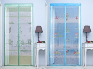 China Magnetic Door Screen Curtain, Magnetic Door Screen Curtain  Manufacturers, Suppliers | Made In China.com