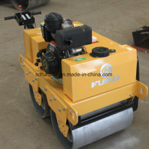 Honda Engine Walk Behind Tandem Drum Vibratory Roller Compactor pictures & photos