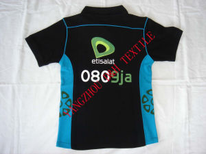 New Design Cotton T-Shirt with Embroidery Printing Dh-Lh7673