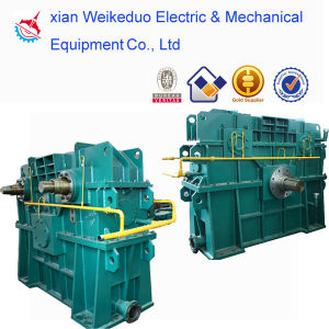 Low Power Consumption Speed Increasing Gearbox for Finishing Mill Group pictures & photos
