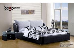 Fancy Bedroom Sets Fabric Bed (528)
