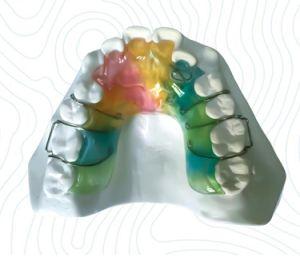 China Dental Hard Acrylic Splint China Dental Hard Acrylic Splint